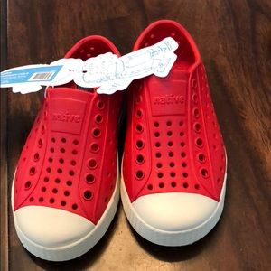 New with Tags, beautiful Native shoes, waterproof